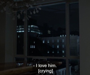 crying, him, and love image