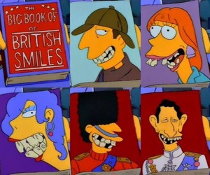 the simpsons and england image