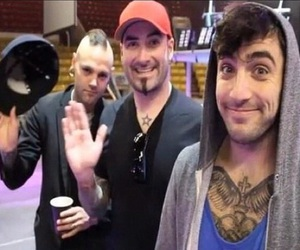 hedley, dave rosin, and tommy mac image