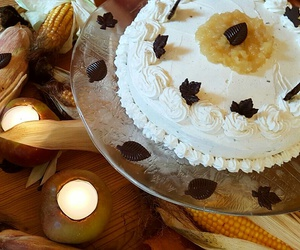 applepie, autumn, and cake image