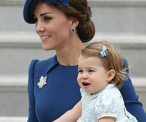 kate middleton, baby, and princess charlotte image