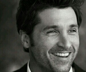 patrick dempsey, grey's anatomy, and black and white image