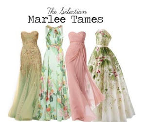 the selection, dresses, and marlee image
