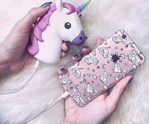 fashion, iphone apple, and unicorn image