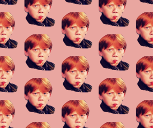 harry potter, lol, and ron image