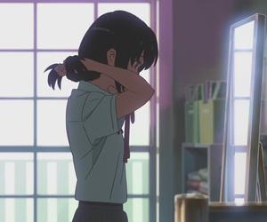 anime, anime girl, and makoto shinkai image
