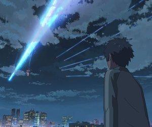 anime, scenery, and anime boy image