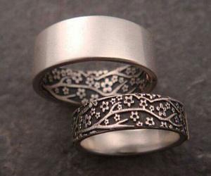 couple, anillos, and pareja image
