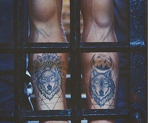 boy, tattoo, and Tattoos image