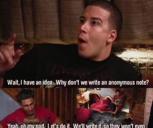 Vinny, jersey shore, and funny image