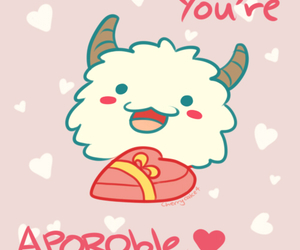 valentines, league of legends, and poro image