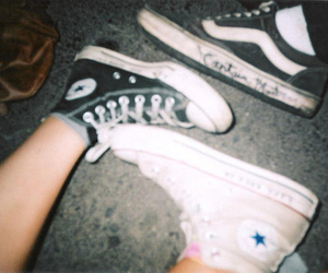 converse, alternative, and shoes image