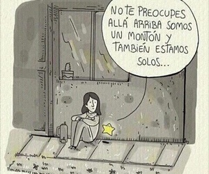 frases, stars, and loneliness image