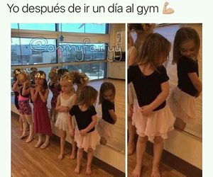 divertido, funny, and gym image