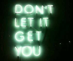 light, neon, and quotes image