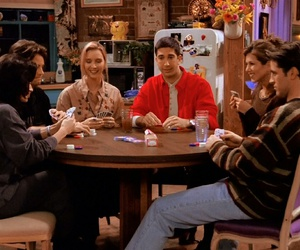 friends, 90s, and tv show image