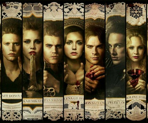 the vampire diaries, tvd, and vampire image