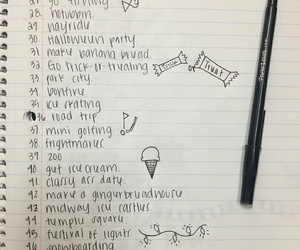 tumblr, bucket list, and fall things image