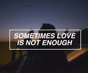 love, girl, and enough image