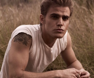 paul wesley, the vampire diaries, and tvd image