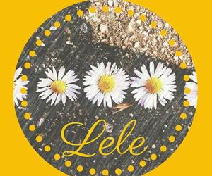 flowers, me, and lele image