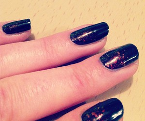 black, glitters, and gradient image