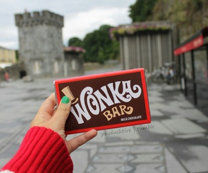 chocolate, wonka, and food image