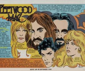 band, fleetwood mac, and rock image