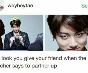 bts, funny, and meme image