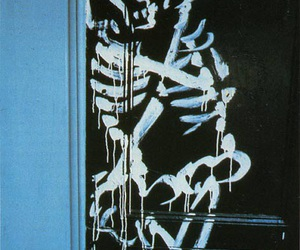 love, skeleton, and grunge image