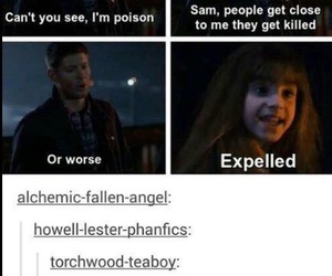 harry potter, supernatural, and funny image