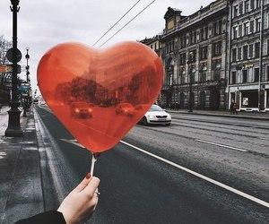 girl, heart, and petersburg image