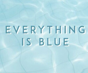 blue, colors, and aesthetic image
