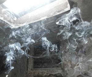 smoke, grunge, and pale image