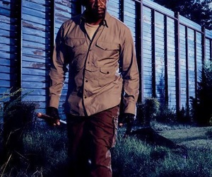 morgan, the walking dead, and walkers image