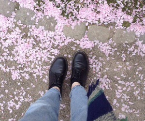 grunge, flowers, and pink image
