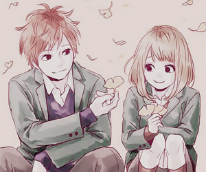 orange, anime, and suwa image