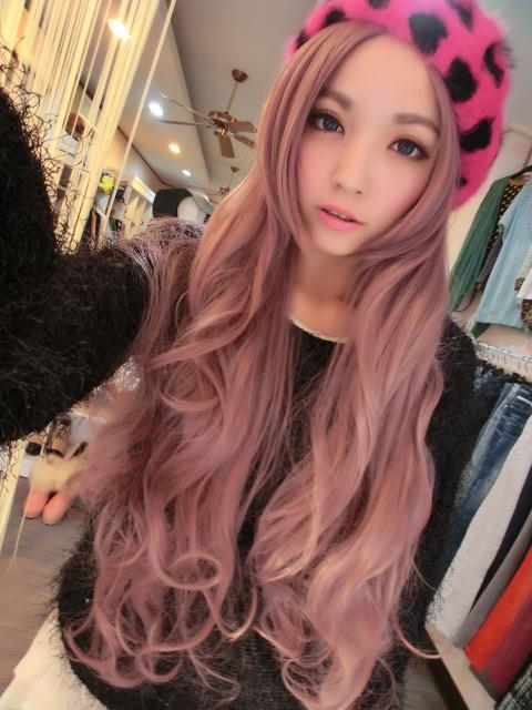 Image Result For Hair Color Ideas Tumblr Asian