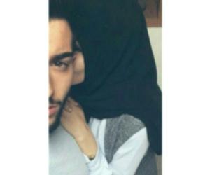 boy, hijab, and حجاب image