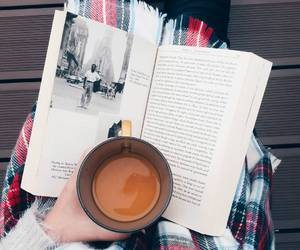autumn, book, and cell image