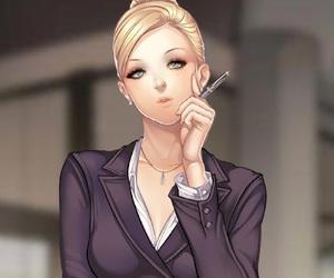 anime girl, lisa, and it is love ryan image