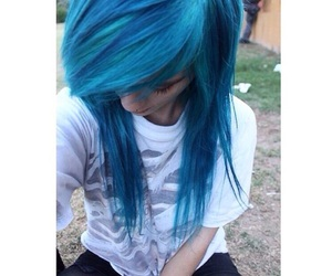 awesome hair, emo, and scene girl image