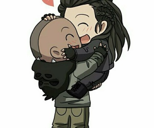 lincoln, the 100, and octavia blake image