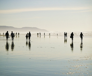 people, photography, and sea image