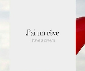 Dream, french words, and quotes image
