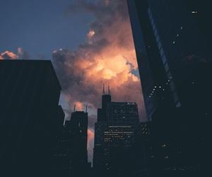 beauty, city, and lights image