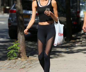 gym, workout, and romee image