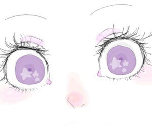 eyes, kawaii, and anime image