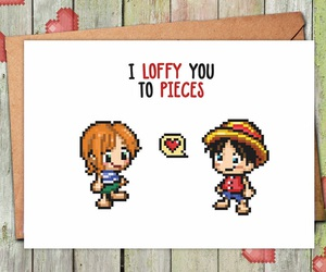 anime, etsy, and one piece image