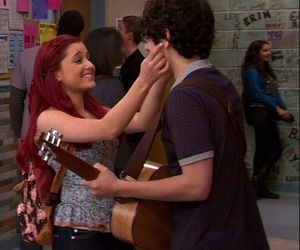 victorious, robbie, and ariana grande image
